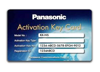 Panasonic KX-NSU301W Ключ активации функции записи разговора для 1 пользователя (2way REC 1 User)