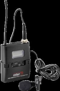 Inter-M PAM-WBM  комплект (Поясной радиопередатчик с петличным микрофоном)