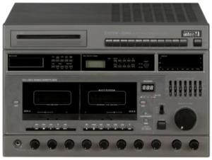Inter-M SYS-2240G (Комбинированная система, 10 зон, 240 Вт, CD/MP3, тюнер, дека на 2 кассеты, 2 лин.