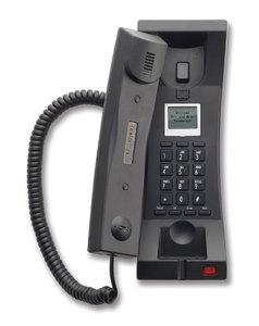 Telematrix 3302TRM-IP Trimline Black (Проводной гостиничный телефон VoIP)