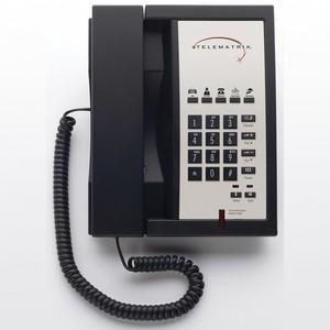 Telematrix 3300MWD5 Black (Проводной гостиничный телефон)