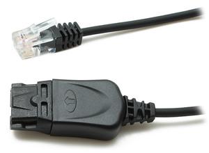 Accutone Standart Lower cable QD PLT - RJ (U10P) (Переходник)