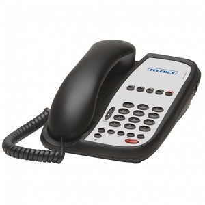 Teledex I Series ND2105S Black (Проводной гостиничный телефон VoIP)
