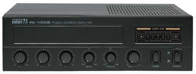 Inter-M PA-1000B (Микшер-усилитель, 30 Вт, 1 лин., 2 мик., вход АТС)