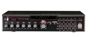 Inter-M MA-206U (Цифровой микшер-усилитель с USB-медиаплеером, 5 зон, 60 Вт, 5 унив., 1 лин., вход А