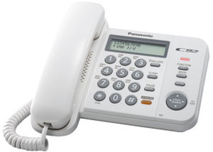 Panasonic KX-TS2358RUW (Проводной телефон)