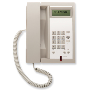 Telematrix 3300IP MWB Ash (Проводной гостиничный телефон VoIP)