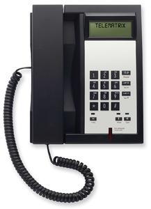 Telematrix 3300IP MWB Black (Проводной гостиничный телефон VoIP)