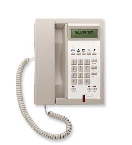 Telematrix 3300IP MWD5 Ash (Проводной гостиничный телефон VoIP)