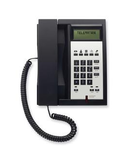 Telematrix 3300IP MWD5 Black (Проводной гостиничный телефон VoIP)
