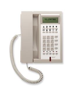Telematrix 3302IP MWD Ash (Проводной гостиничный телефон VoIP)