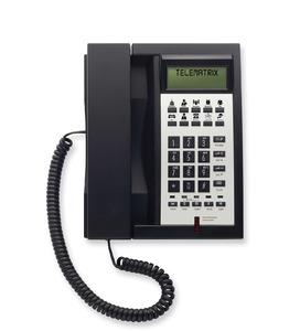 Telematrix 3302IP MWD Black (Проводной гостиничный телефон VoIP)