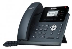 Телефон SIP Yealink SIP-T40P (3 SIP-аккаунта,  BLF, PoE, БЕЗ БП)