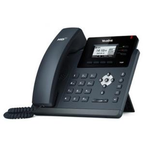 Телефон SIP Yealink SIP-T40G (3 SIP-аккаунта, BLF,PoE,БЕЗ БП,скорость до1000 Мбит/с,улуч. энергопо )