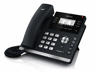 Телефон SIP Yealink SIP-T41S (6 SIP-аккаунтов,  BLF, PoE, БЕЗ БП)