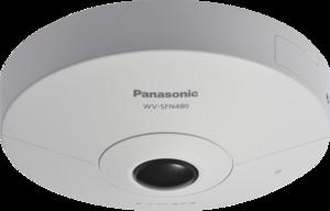 Panasonic WV-SFN480 IP-видеокамера купольная панорамная 360 гр.
