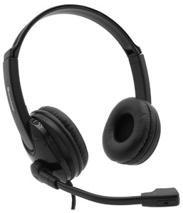 Accutone PC101 2*3.5 mm black Гарнитура для PC аудиокарты