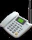 Стационарный сотовый телефон Termit FixPhone v2 rev.4 серый