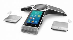 Комплект: Yealink CP960, конференц-телефон, PoE, запись разговора и 2 CPW90 (беспроводные)