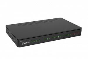 IP-АТС Yeastar S412, 8*FXS(расширение до 12), 2*FXO(расширение до 4), 4*SIPTrunk, 8*SIPEx