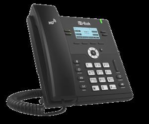Проводной SIP телефон Htek UC912P RU (с POE, БП в комплекте)