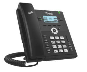Проводной SIP телефон Htek UC912G RU (с POE, БП в комплекте)