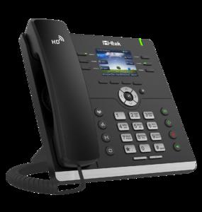 Проводной SIP телефон Htek UC923 RU (c POE, БП в комплекте)