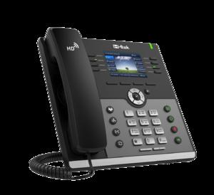 Проводной SIP телефон Htek UC924E RU (c POE, БП в комплекте)