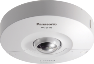 Panasonic WV-SF448E IP-видеокамера купольная антиванд 360 гр.HD 1280x960 1/3' МОП, объек. 2,8-10 мм