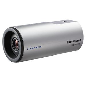 Panasonic WV-SP102-видеокамера корпусная VGA 640x480 H.264/JPEG (M-JPEG), 1/5' МОП,