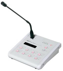 Inter-M RM-8000 (Микрофонная панель Inter-M на 8 зон для матричного контроллера PX-8000D)