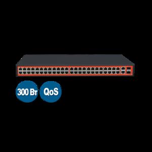Wi-Tek WI-PS150GFV (Неуправляемый коммутатор 48 PoE портов 100Base-TX + 2 Combo 1000Base-T/SFP)