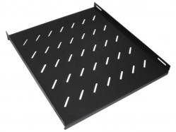 RACK5 Полка усиленная в шкафы глубиной 600мм, нагрузка до 100кг, черная
