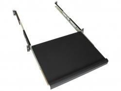 RACK5 Полка клавиатурная выдвижная в шкафы глубиной 600мм, нагрузка до 20кг, черная