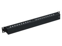 RACK5 Кабельный органайзер с крышкой (высота 45мм), 1U, черный