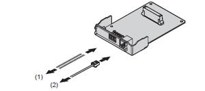 Panasonic KX-HT82460X (Плата домофона для 2-х домофонов и 2-х электромеханических дверных замков)